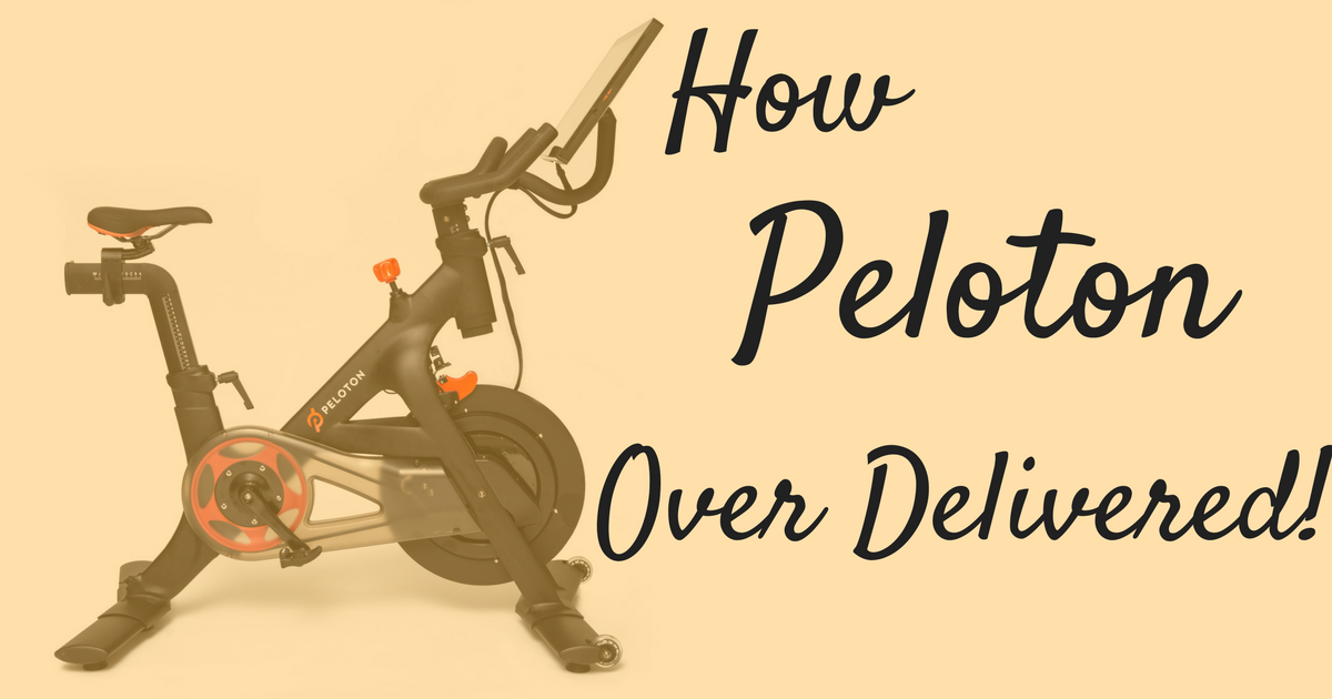 Empower Your Team To Over Deliver in Customer Service – My Peloton Story