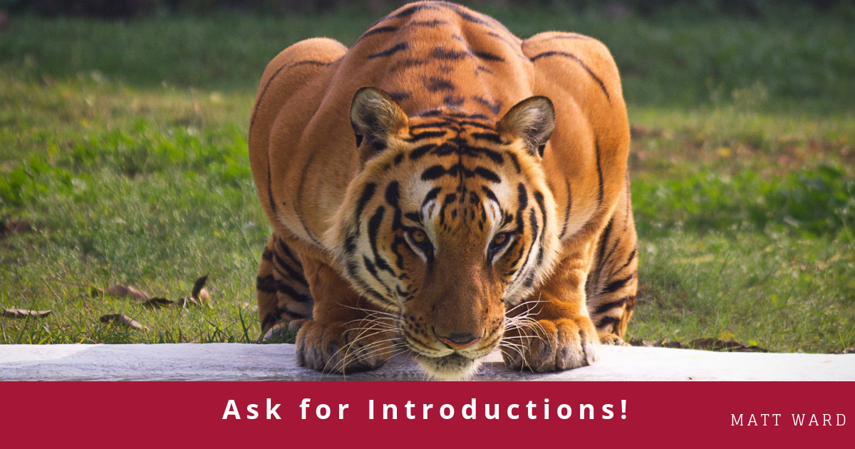 Ask For Introductions