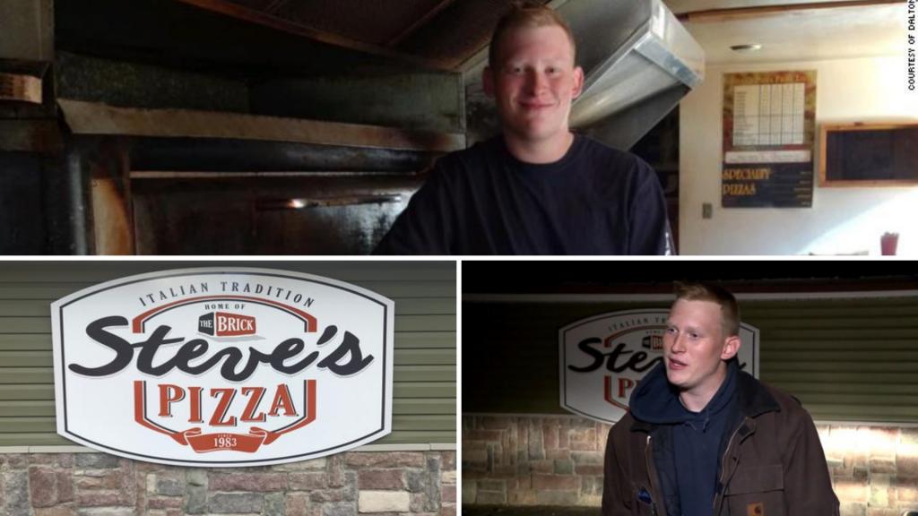 Dalton Shaffer Steve's Pizza
