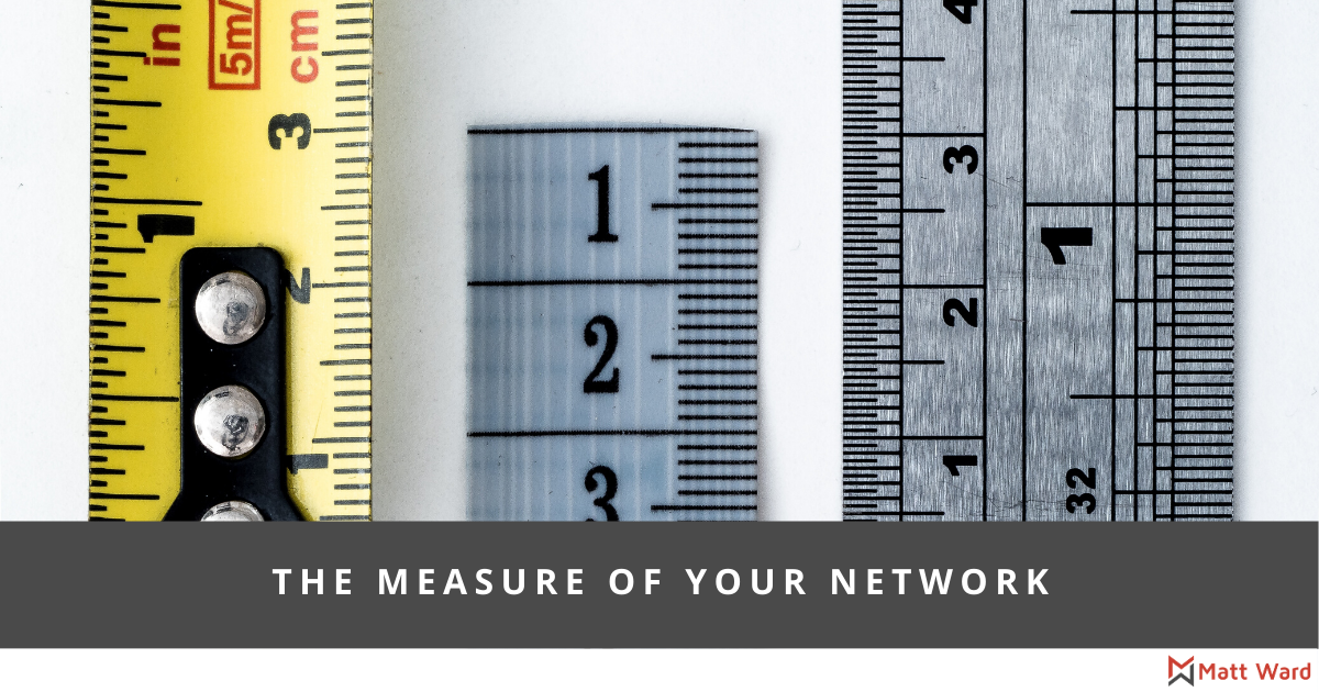 The Measure Of Your Network