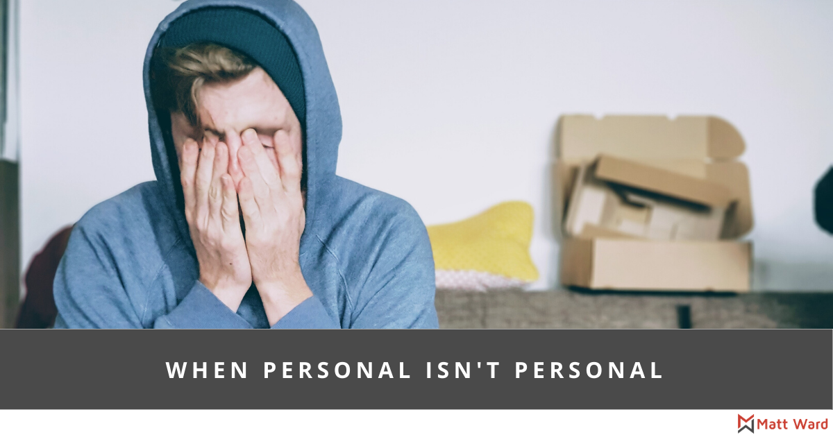 When personal isn't personal